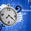 "Power clock with blue background labeled ""Mahoney Lab"""